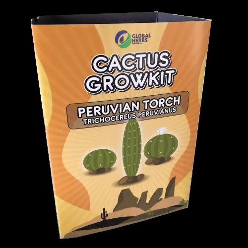 Cactus growkit Peruvian Torch