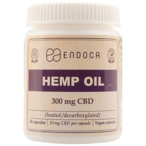 CBD Capsules Hennepzaad-olie (Endoca) 300mg