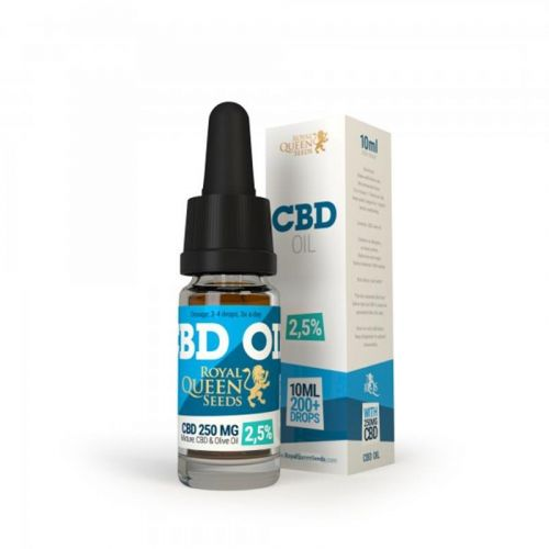 CBD olie RQS 250 mg, 10 ml