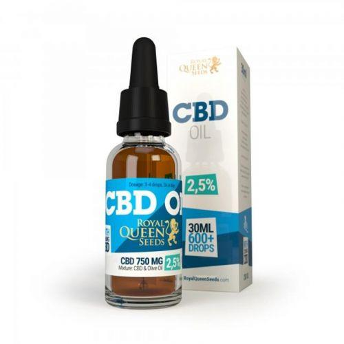 CBD olie RQS 750 mg, 30 ml