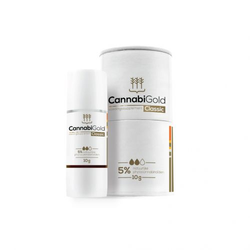 CBD Olie (CannabiGold) 5% 500mg 10gr
