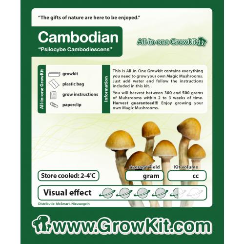 Growkit Cambodian 1200 cc