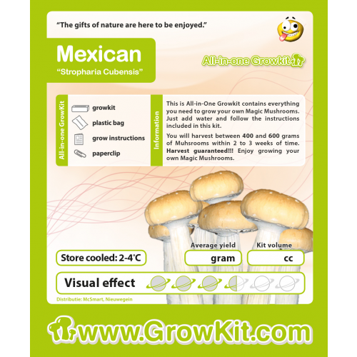 Growkit all in one Mexican 1200 cc