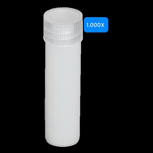 Lege buisjes 5ml verpakt per 1000 stuks