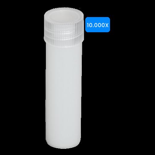 Lege buisjes 5ml verpakt per 10000 stuks