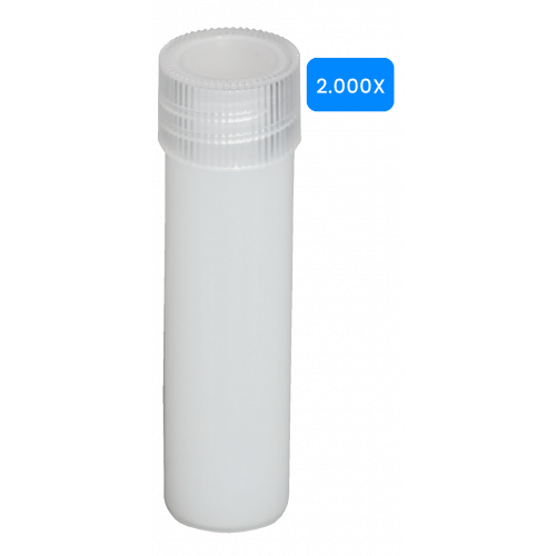Lege buisjes 5ml verpakt per 2000 stuks