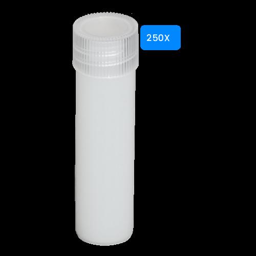 Lege buisjes 5ml verpakt per 250 stuks