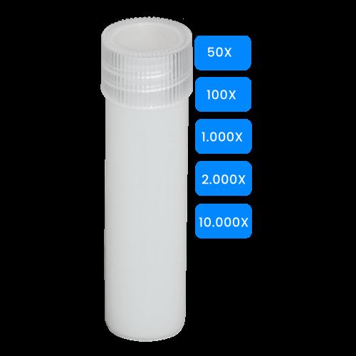 Lege buisjes 5ml met schroefdop verpakt vanaf 50 stuks