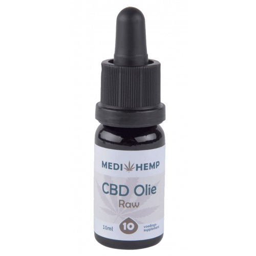 CBD olie RAW MediHemp 10%