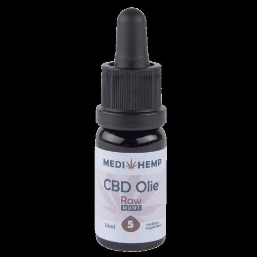 CBD olie RAW MediHemp 5%