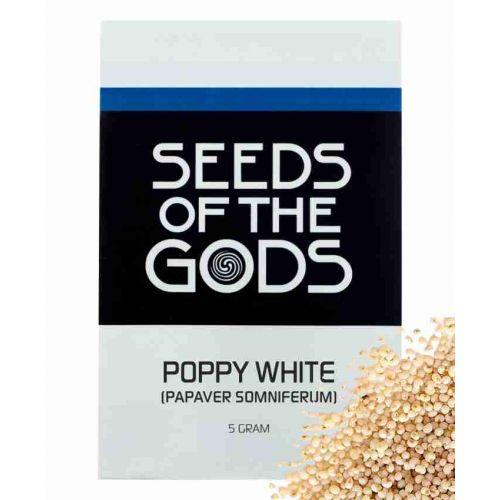 Poppy White Seeds