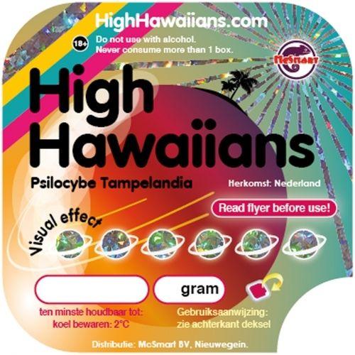 Truffels Hawaiians verpakking